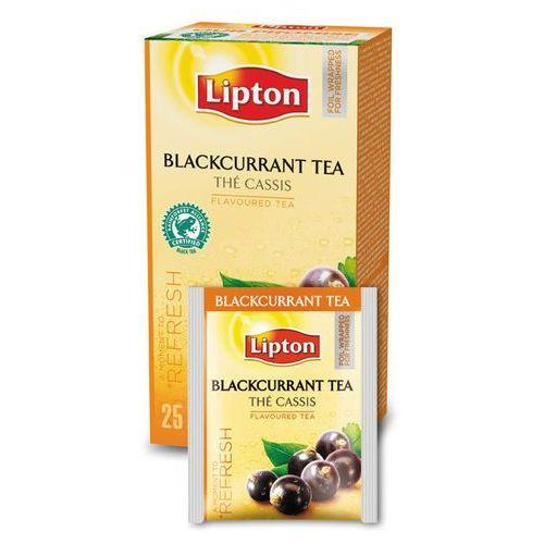 Czarna aromatyzowana herbata Lipton Classic Blackcurrant 25 kopert, kup u jednego z partnerów
