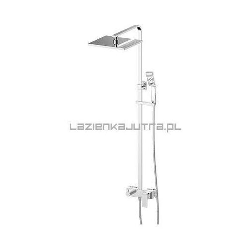 fresh zestaw prysznicowy, chrom fr7144 marki Omnires
