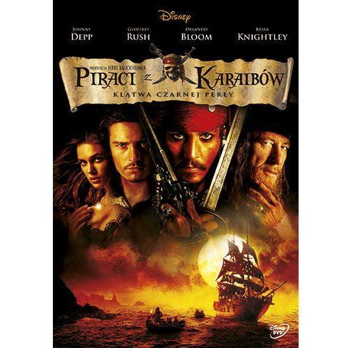 Piraci z Karaibów. Klątwa Czarnej Perły [DVD] (7321917502405)