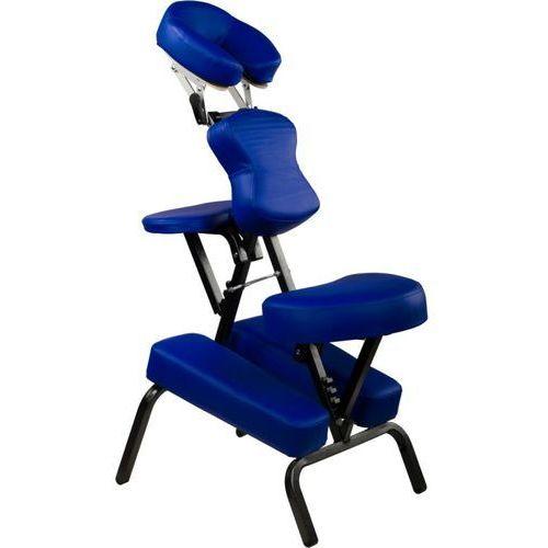 Fotel masujący Movit składany niebieski 8,5 kg
