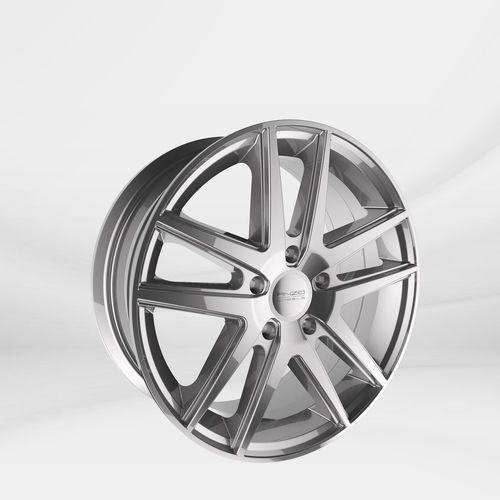 "Anzio Felgi aluminiowe 17"" 5x114.3 split - srebrny"