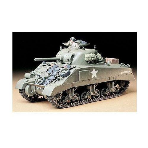 Tamiya U.S. Medium Tank M4 Sherman (4950344996193)