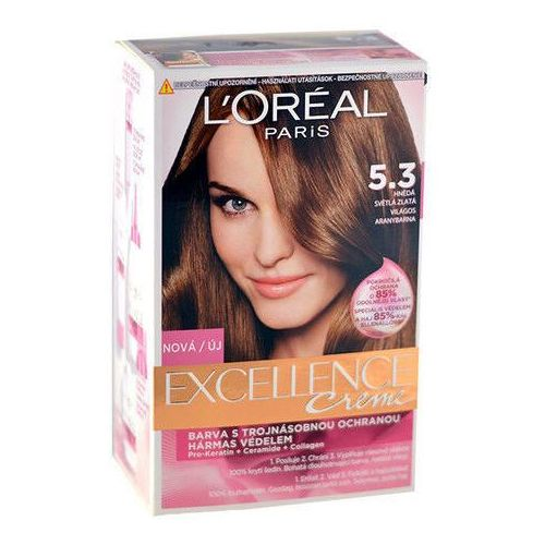 L´Oreal Paris Excellence Creme Hair Colour 1szt W Farba do włosów 5,3 Natural Golden Brown, kup u jednego z partnerów
