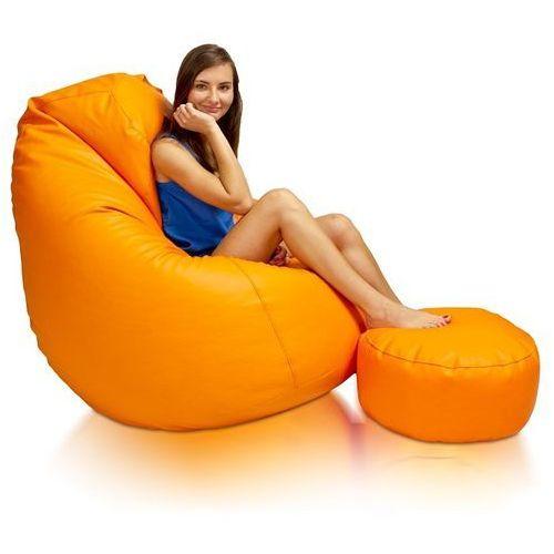 Polskie pufy Pufa, fotel komfort xxxl, podnóżek gratis walentynki!