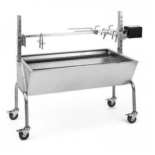 OneConcept Sauenland grill do pieczenie prosiąt z silnikiem elektrycznym rożen obrotowy