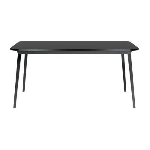 QeeBoo Stół X 90x163 cm czarny 16005RE