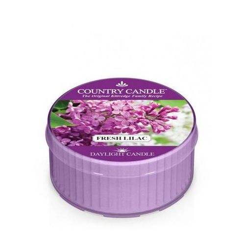 Kringle candle Country candle świeca fresh lilac 35g