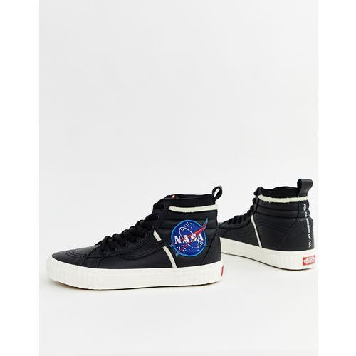 268a68003c484 x space voyager sk8-hi mte trainers in black vn0a3dq5uq31 - black, Vans