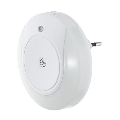 Eglo tineo 97934 lampka wtykowa do gniazda 2x0,4w led biała
