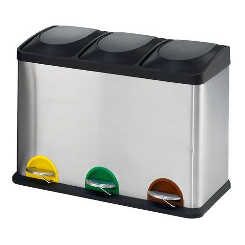 Aj produkty Pojemnik do sortowania odpadów addison, 3 przegrody, 45 l