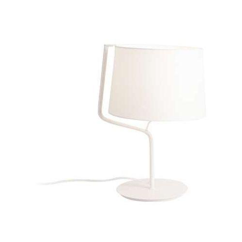 Lampa stołowa lampka MAXlight Chicago 1x100W E27 biała T0028
