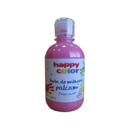 Farba do malowania palcami 300ml różowa marki Happy color
