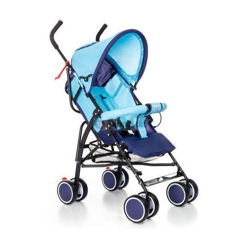 Wózek spacerówka compact d niebiesko-granatowy marki Moolino