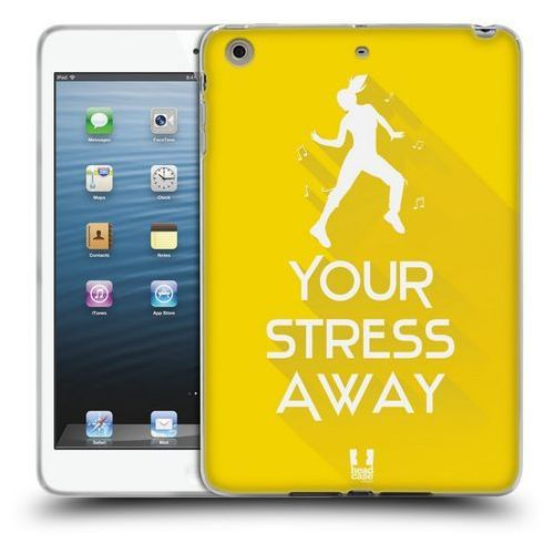 Head case Etui silikonowe na tablet - workout inspirations yellow dance