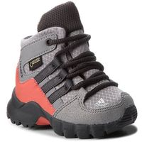 Buty adidas - Terrex Mid Gtx I GORE-TEX D97656 Grethr/Carbon/Trasca, kolor szary