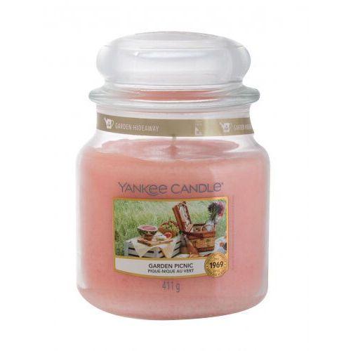 Yankee Candle Garden Picnic świeczka zapachowa 411 g unisex (5038581091518)