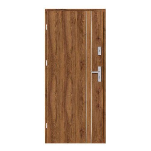 Drzwi wewnątrzklatkowe Ateron Lux 80 lewe dąb stary 3D