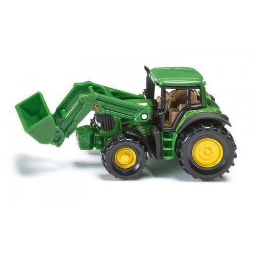 Zabawka SIKU Traktor John Deere z przednią ładowarką, 4006874013418