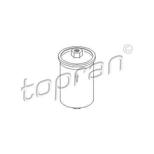 Filtr paliwa  104 393 marki Topran