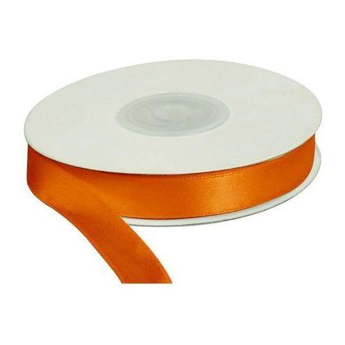 Wstążka pomarańcz, 25m dł x 12mm szer, CRAFT-FUN - pomarańczowy (5907437671191)