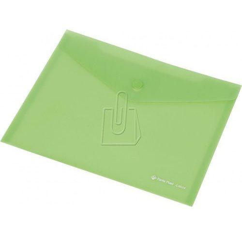 Teczka kopertowa A5 Panta Plast C4534 na zatrzask zielona
