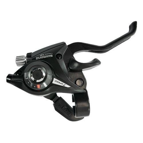 ASTEF51R7AL Klamkomanetka Shimano Acera ST-EF51 7 rz V-BRAKE (PRAWA) czarna