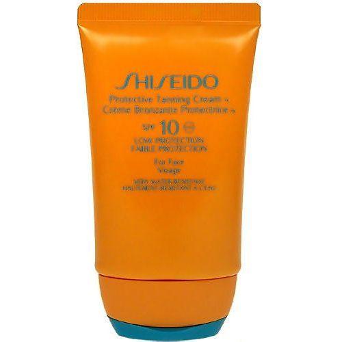 Shiseido 10 Protective Tanning Cream SPF10 50ml W Opalanie Krem do opalania