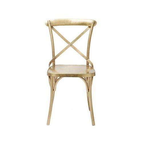 Kare Design Krzesło Castillo I złote - 81619