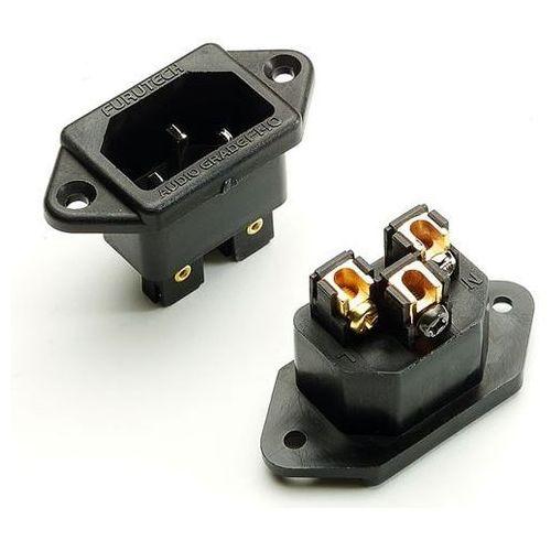 Furutech FI-09 (R) NCF - gniazdo montażowe IEC - rodowana (4580370443103)