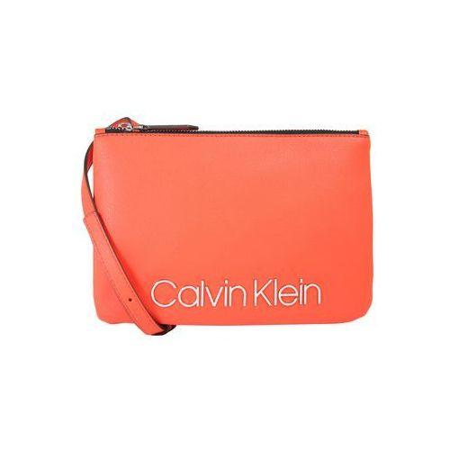 Calvin Klein Torba na ramię 'CK MUST CROSSOVER' pomarańczowy