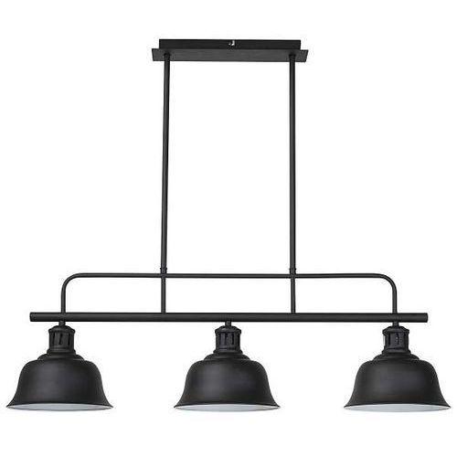 Lampa wisząca Rabalux Caitlin 2744 3x60W E27 czarna (5998250327440)