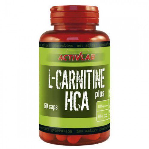 ActivLab L-Carnitine HCA Plus - (50 kap) (5907368835204)