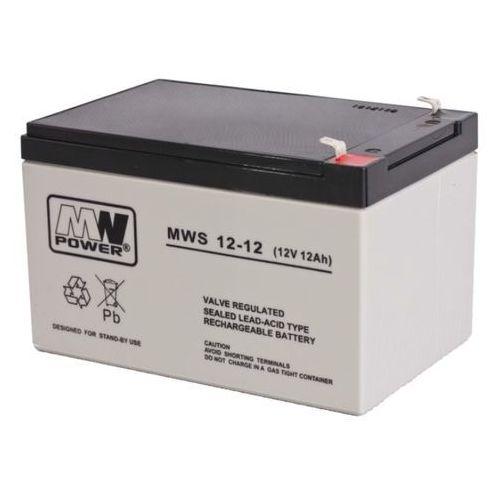 Akumulator AGM MWP MWS 12-12 (12V 12Ah) (5902135117439)