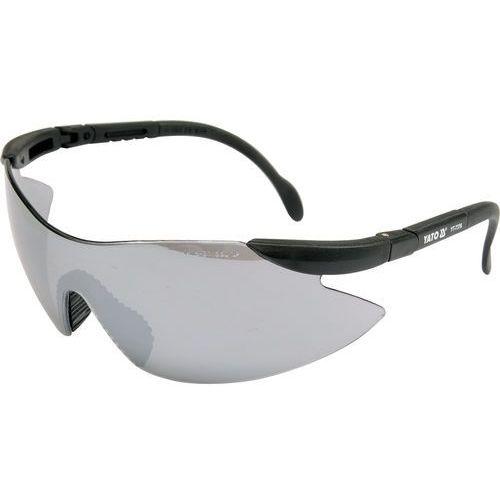 Okulary ochronne szare typ 91380 / YT-7376 / YATO - ZYSKAJ RABAT 30 ZŁ