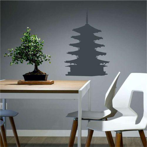 Wally - piękno dekoracji Szablon do malowania japońska pagoda 2288