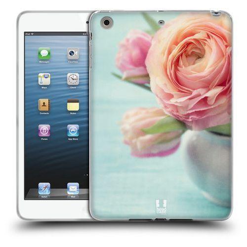 Etui silikonowe na tablet - Flowers PINK PEACH ROSES IN A VASE