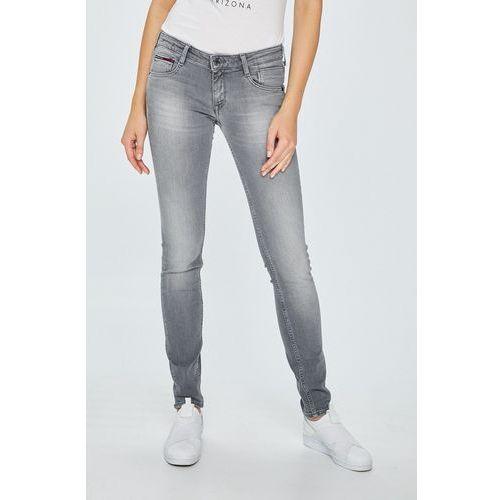 - jeansy scarlett marki Tommy jeans