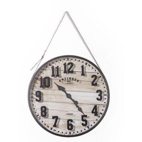 Dekoria zegar wiszący boards 59x7x90cm, 59 × 7 × 90 cm