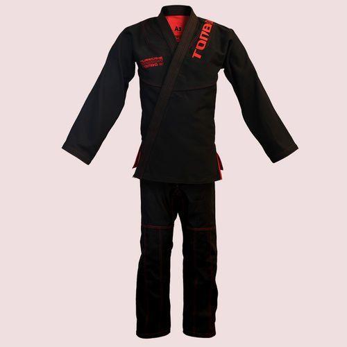 Tonbo Kimono do bjj / ju-jitsu hurricane, czarny, 580g/m2 / 14oz (9 rozmiarów)