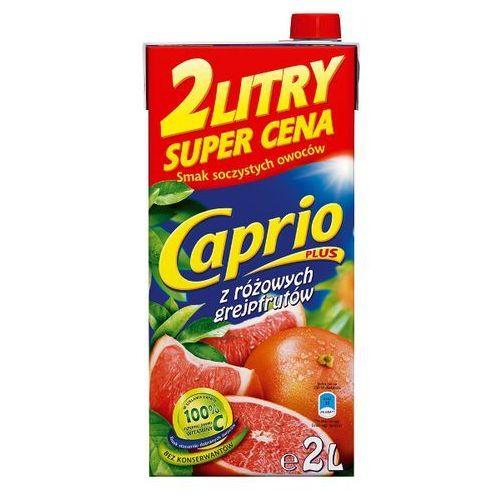 NAPÓJ CAPRIO 2L RÓŻOWY GREJFRUT z kategorii Napoje, wody, soki