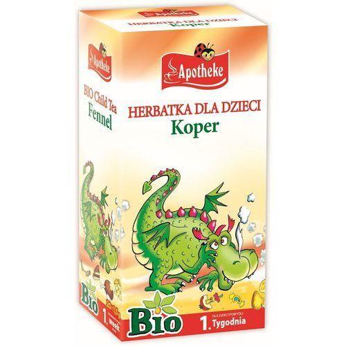 Herbatka dla dzieci - koper bio 20 x 1,5 g - marki Apotheke