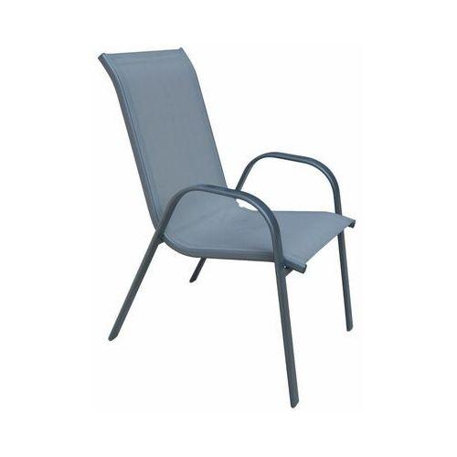 Telehit garden Krzesło ogrodowe cino metalowe antracytowe (5901721052697)