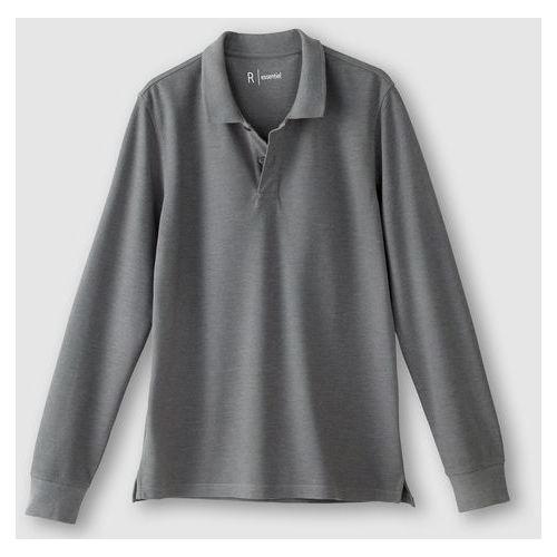 Koszulka polo z długimi rękawami z piki