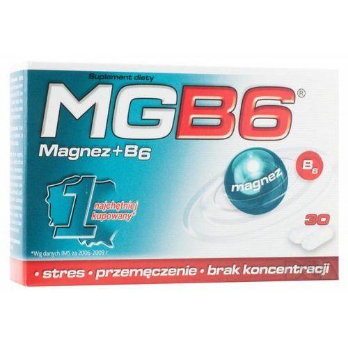 Tabletki MgB6 tabl. - 30 tabl.