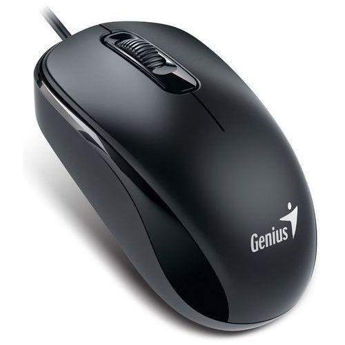 Mysz przewodowa GENIUS DX-110 optyczna czarna (4710268251552)