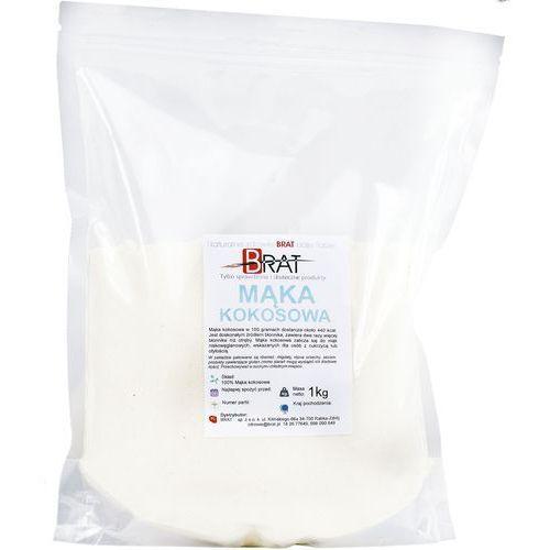 Mąka kokosowa 1kg naturalna z kokosa wysoka jakość – marki Brat.pl