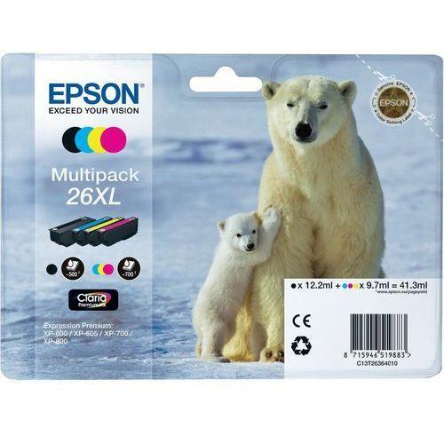 Epson Zestaw tuszy t2636 cmyk do drukarek (oryginalny) 4-pack