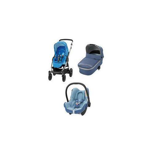 W�zek wielofunkcyjny 3w1 Stella + Cabrio Fix Maxi-Cosi + GRATIS (Frequency Blue)