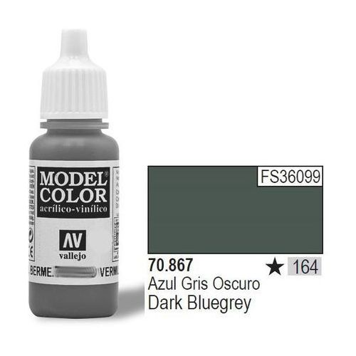 Vallejo Farba nr164 dark blue grey 17ml (8429551708678)