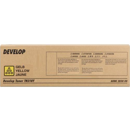 Develop toner Yellow typ TN318Y, TN-318Y, A0DK2D3